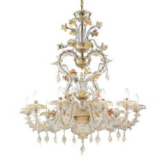 Satriani Murano Glass Chandelier