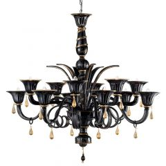 Trevovi Murano Glass Chandelier