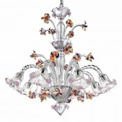 Vittoria Murano Glass Chandelier