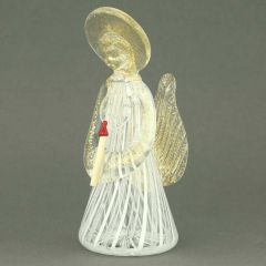Reticello Murano Glass Angel