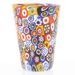 Murano Millefiori Shot Glass - Multicolor