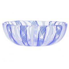Murano Glass Filigrana Candy Dish