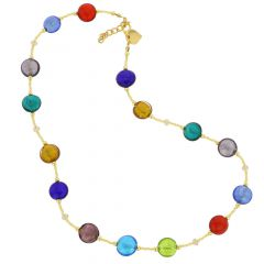 Beatrice Murano Glass Necklace - Multicolor