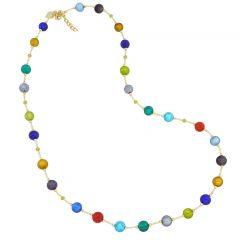 Sunny Venice Murano Glass Necklace - Multicolor