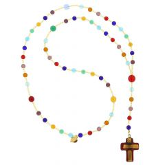 Murano Glass Italian Rosary - Ruby Red
