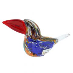 Murano Glass Toucan - Multicolor