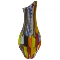 Tessuto Murano Glass Vase - Large