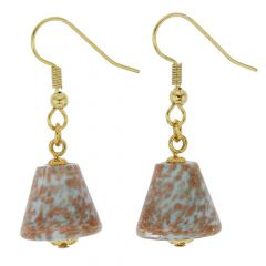 Starlight Cones Earrings - Sky Blue