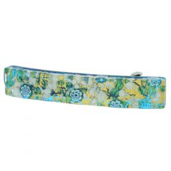 Venetian Reflections Hair Clip - Aqua Gold