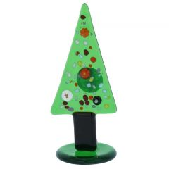 Murano Glass Millefiori Christmas Tree Figurine