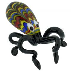 Festooned Murano Glass Octopus