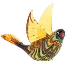 Festooned Glass Dove