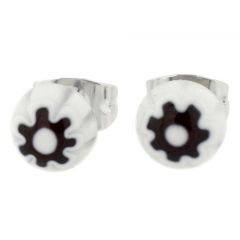 Millefiori Small Stud Earrings #2
