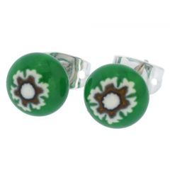 Millefiori Small Stud Earrings
