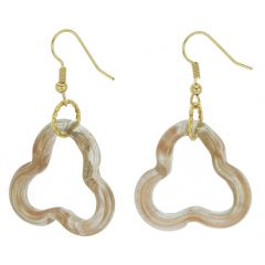 Nicoletta Murano Earrings - Topaz