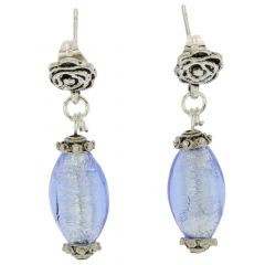 Antico Tesoro Olives Earrings - Silver Ice