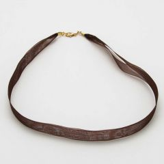 Organza Ribbon - Chocolate Brown