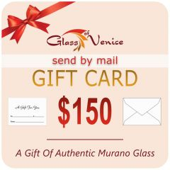 $150 GlassOfVenice Gift Card – Send By Mail