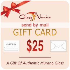 $25 Glassofvenice Gift Certificate