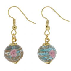 Magnifica Earrings - Sky Blue