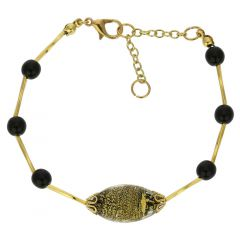 Golden Glow Bracelet - Summer Night