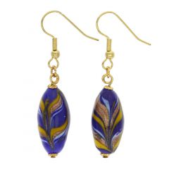 Laguna Murano Festooned Olives Earrings