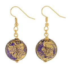 Ca D'Oro Earrings - Cobalt Blue