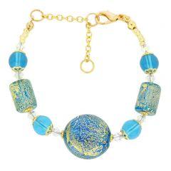 Ca D'Oro Murano Bracelet - Aqua