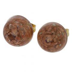 Starlight Small Stud Earrings - Light Purple
