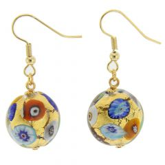Ca D'Oro Earrings - Klimt