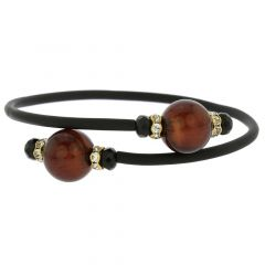Venetian Glamour Bracelet - Dark Mocha