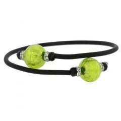 Venetian Glamour Bracelet - Lime Green