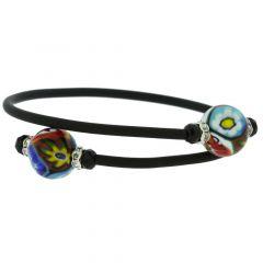 Venetian Glamour Bracelet - Millefiori