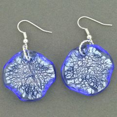 Isola Bella Murano Earrings - Blue