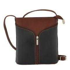 Fioretta Italian Genuine Leather Crossbody Shoulder Bag Handbag For Women