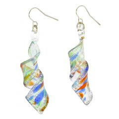 Kaleidoscope Spiral Earrings