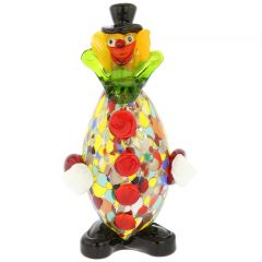 Murano Glass Clown - Oval