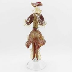 Venetian Goldonian Gentleman - Red and Gold