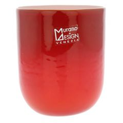 Murano Glass Luminoso Tumbler - Red