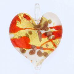 Tender Heart Pendant - Caramel