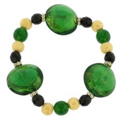 Murano Magic Bracelet - Emerald Green