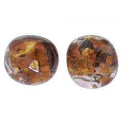 Venetian Reflections Round Stud Earrings