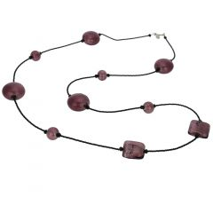 Lucia Murano Necklace - Purple