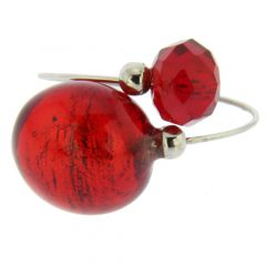 Lagoon Reflections Ring - red