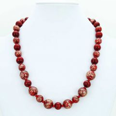 Starlight Murano Necklace - Red