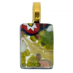 Venetian Reflections Stick Pendant #10