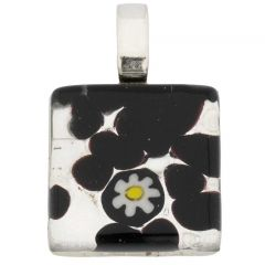 Venetian Reflections Square Pendant #4