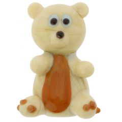 Murano Glass Teddy Bear Pendant