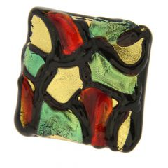 Gaudi Murano Modern Art Adjustable Ring