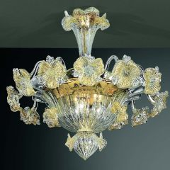 Bepinaso Murano Glass Ceiling Lamp
